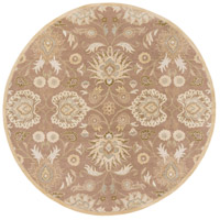 Caesar 96 inch Neutral and Brown Area Rug, Wool