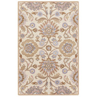 Caesar 168 X 120 inch Neutral and Brown Area Rug, Wool