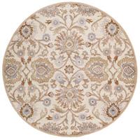 Caesar 72 inch Neutral and Brown Area Rug, Wool