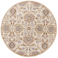 Caesar 48 inch Neutral and Brown Area Rug, Wool