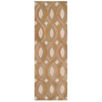 Surya CAN1901-268 Modern Classics 96 X 30 inch Brown and Neutral Runner, Wool photo thumbnail
