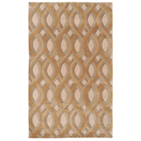 Surya CAN1901-23 Modern Classics 36 X 24 inch Brown and Neutral Area Rug, Wool photo thumbnail