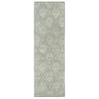 Surya CAN1907-268 Modern Classics 96 X 30 inch Gray and Neutral Runner, Wool photo thumbnail