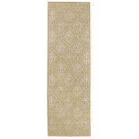 Surya CAN1914-268 Modern Classics 96 X 30 inch Green and Neutral Runner, Wool photo thumbnail
