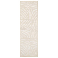 Modern Classics 96 X 30 inch Neutral and Neutral Runner, Wool