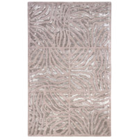 Modern Classics 63 X 39 inch Gray and Neutral Area Rug, Wool