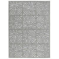 Modern Classics 132 X 96 inch Gray and Gray Area Rug, Wool