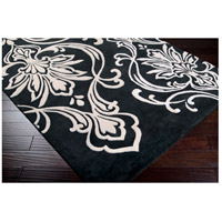 Surya CAN1951-811 Modern Classics 132 X 96 inch Black and Neutral Area Rug, Wool alternative photo thumbnail