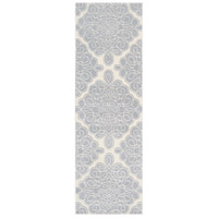 Surya CAN1957-268 Modern Classics 96 X 30 inch Blue and Neutral Runner, Wool photo thumbnail