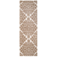 Surya CAN1964-268 Modern Classics 96 X 30 inch Brown and Neutral Runner, Wool photo thumbnail