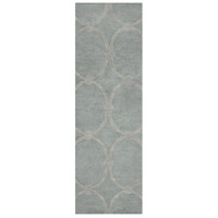 Surya CAN1990-268 Modern Classics 96 X 30 inch Gray Runner, Wool photo thumbnail