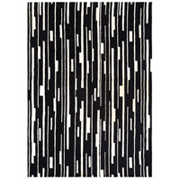 Surya CAN1998-811 Modern Classics 132 X 96 inch Black and Neutral Area Rug, Wool photo thumbnail