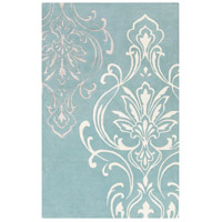 Surya CAN2011-3353 Modern Classics 63 X 39 inch Blue and Neutral Area Rug, Wool photo thumbnail