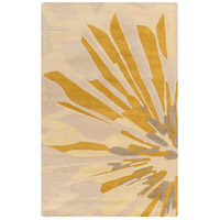 Surya CAN2031-58 Modern Classics 96 X 60 inch Neutral and Brown Area Rug, Wool photo thumbnail