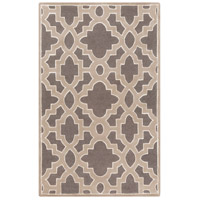 Surya CAN2037-58 Modern Classics 96 X 60 inch Medium Gray/Taupe/Ivory Rugs, Wool photo thumbnail