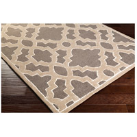 Surya CAN2037-58 Modern Classics 96 X 60 inch Medium Gray/Taupe/Ivory Rugs, Wool alternative photo thumbnail