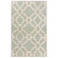 Surya CAN2039-3353 Modern Classics 63 X 39 inch Green and Neutral Area Rug, Wool photo thumbnail