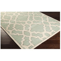 Surya CAN2039-268 Modern Classics 96 X 30 inch Green and Neutral Runner, Wool alternative photo thumbnail