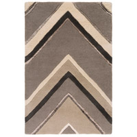 Surya CAN2059-23 Modern Classics 36 X 24 inch Gray and Neutral Area Rug, Wool photo thumbnail