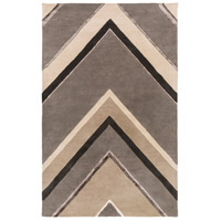 Surya CAN2059-913 Modern Classics 156 X 108 inch Gray and Neutral Area Rug, Wool photo thumbnail