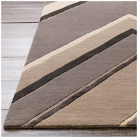 Surya CAN2059-23 Modern Classics 36 X 24 inch Gray and Neutral Area Rug, Wool alternative photo thumbnail