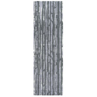 Surya CAN2076-268 Modern Classics 96 X 30 inch Gray and Gray Runner, Wool and Viscose photo thumbnail