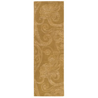 Surya CAN2077-268 Modern Classics 96 X 30 inch Brown and Neutral Runner, Wool and Viscose photo thumbnail