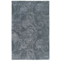 Surya CAN2078-913 Modern Classics 156 X 108 inch Gray and Neutral Area Rug, Wool and Viscose photo thumbnail