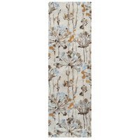Surya CAN2081-268 Modern Classics 96 X 30 inch Neutral and Brown Runner, Viscose and Wool photo thumbnail