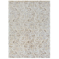 Surya CAN2085-811 Modern Classics 132 X 96 inch Neutral and Brown Area Rug, Viscose and Wool photo thumbnail