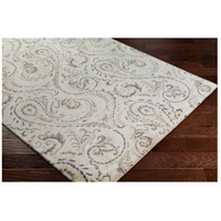 Surya CAN2085-811 Modern Classics 132 X 96 inch Neutral and Brown Area Rug, Viscose and Wool alternative photo thumbnail