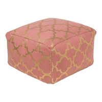 Cecily Pink Pouf