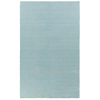 Charette 36 X 24 inch Blue and Neutral Outdoor Area Rug, PET Yarn