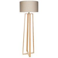 Surya CLH-002 Callahan 63 inch 150 watt Ivory Floor Lighting Portable Light