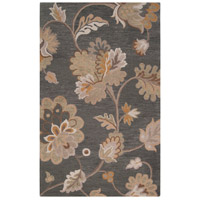 Calypso 36 X 24 inch Gray and Neutral Area Rug, Wool