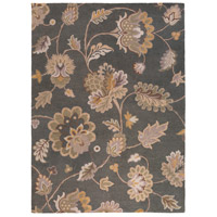 Calypso 132 X 96 inch Gray and Neutral Area Rug, Wool