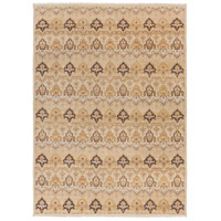 Cambridge 138 X 102 inch Neutral and Brown Area Rug, Wool