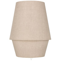 Surya CMO-004 Campos 20 inch 40 watt Taupe Table Lamp Portable Light