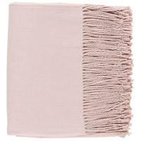 Surya CNL1006-5060 Chantel 60 X 50 inch Pink Throw