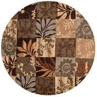 Cosmopolitan 96 inch Brown and Neutral Area Rug, Polyester