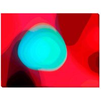 Surya CW144A001-1814 Floating Blue Wall Art, Rectangle, Eternal photo thumbnail