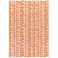 Surya DCR4028-811 Decorativa 132 X 96 inch Orange and Neutral Area Rug, Wool