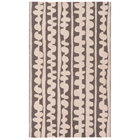 Surya DCR4029-58 Decorativa 96 X 60 inch Brown and Neutral Area Rug, Wool