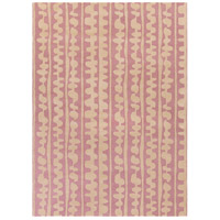 Surya DCR4031-811 Decorativa 132 X 96 inch Pink and Neutral Area Rug, Wool