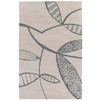 Surya DCR4039-58 Decorativa 96 X 60 inch Gray and Black Area Rug, Wool