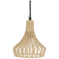 Surya DLL-001 Della 1 Light 13 inch Pendant Ceiling Light