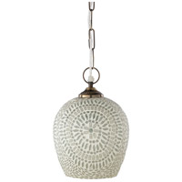 Surya DLZ-001 Daleyza 1 Light 8 inch Pendant Ceiling Light