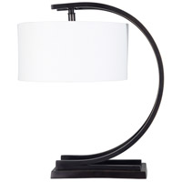 Surya DRS-002 Dresher 19 inch 60 watt Bronzed Table Lamp Portable Light