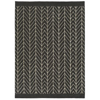 Surya DSH5000-23 Dasher 36 X 24 inch Black and Neutral Area Rug, Wool, Cotton, and Viscose