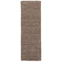Surya DSO200-268 Desoto 96 X 30 inch Brown and Gray Runner, Wool